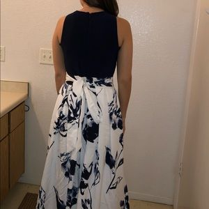 Navy Blue Ralph Lauren Gown Size 4